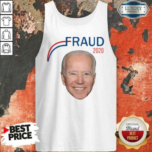 Hot Joe Biden Fraud 2020 Tank Top-Design By Soyatees.com