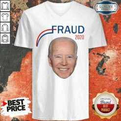 Hot Joe Biden Fraud 2020 V-neck-Design By Soyatees.com