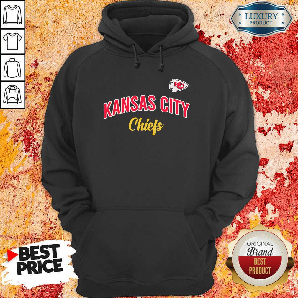 Nfl Kansas City Chiefs Logo In The Game Hoodie-Design By Soyatees.com