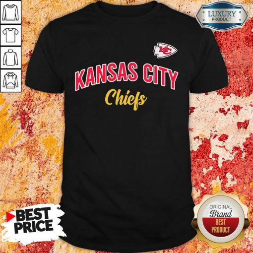 """Nfl Kansas City Chiefs Logo In The Game Shirt """"-Design By Soyatees.com"""