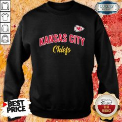 Nfl Kansas City Chiefs Logo In The Game Sweatshirt-Design By Soyatees.com