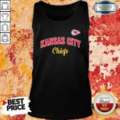 Nfl Kansas City Chiefs Logo In The Game Tank Top-Design By Soyatees.com