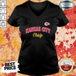 Nfl Kansas City Chiefs Logo In The Game V-neck-Design By Soyatees.com