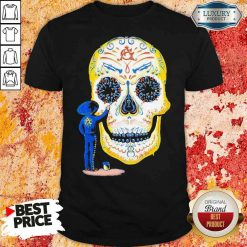 Hot Painter Sugar Skull And Music Shirt-Design By Soyatees.com