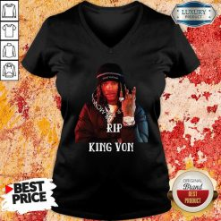 Rip King Yon V-neck-Design By Soyatees.com