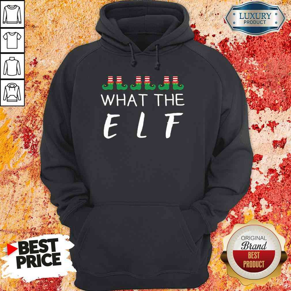 Hot What The Elf Funny Christmas Pajama Hoodie-Design By Soyatees.com
