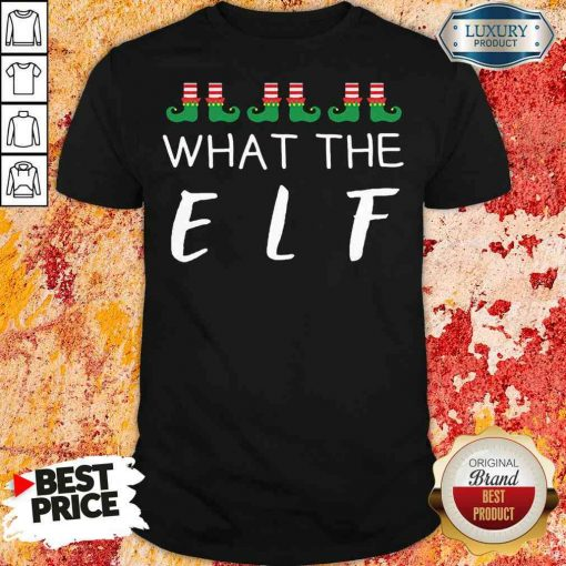 Hot What The Elf Funny Christmas Pajama Shirt-Design By Soyatees.com