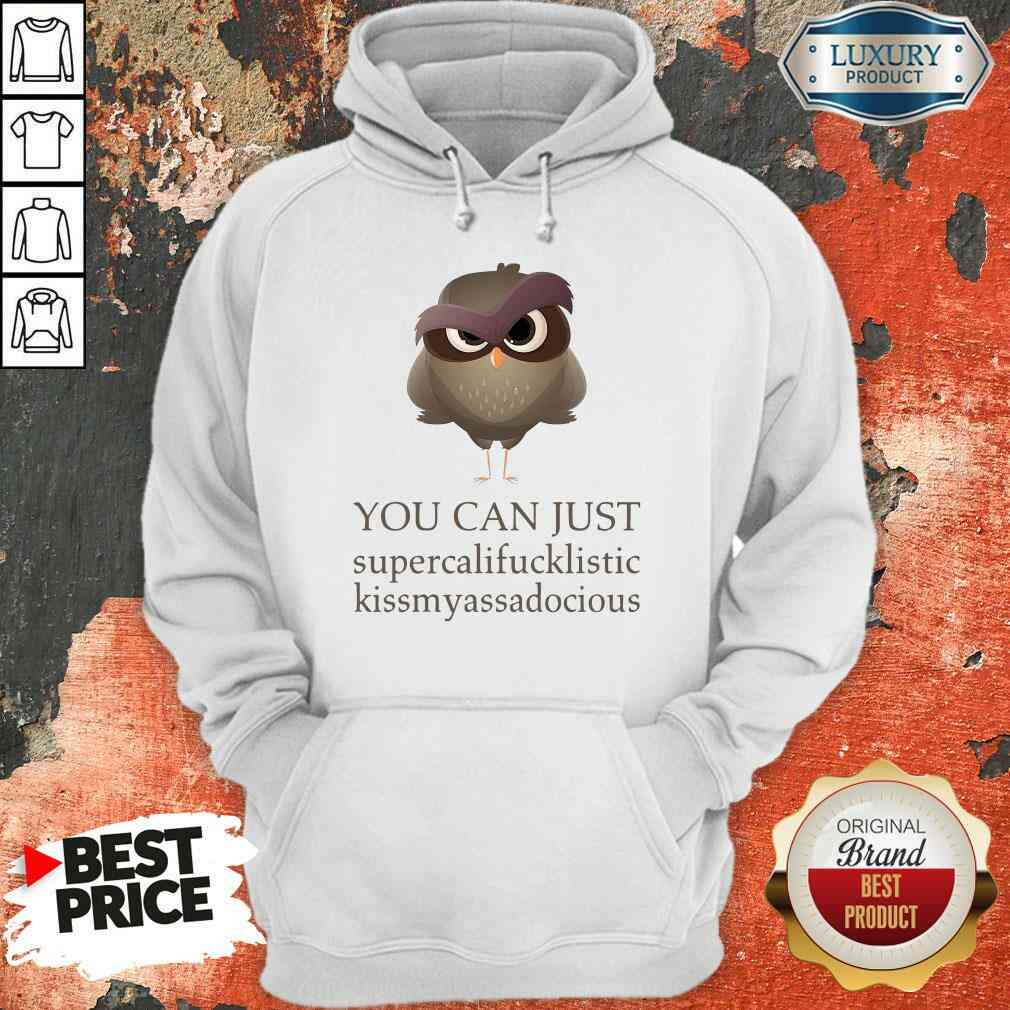 Hot You Can Just Supercalifucklistic Kissmyassadocious Hoodie-Design By Soyatees.com