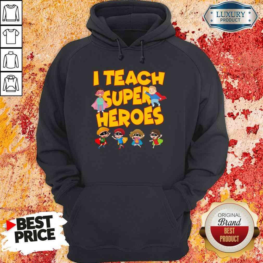 I teach Superheroes Chibi teacher Day Hoodie-Design By Soyatees.com