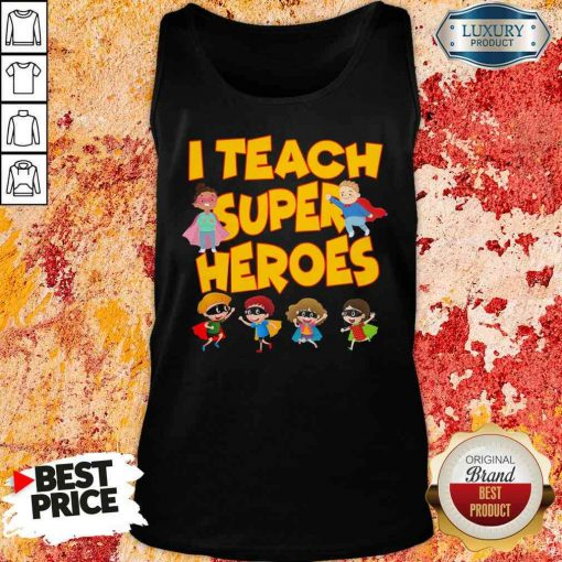 I teach Superheroes Chibi teacher Day Tank Top-Design By Soyatees.com