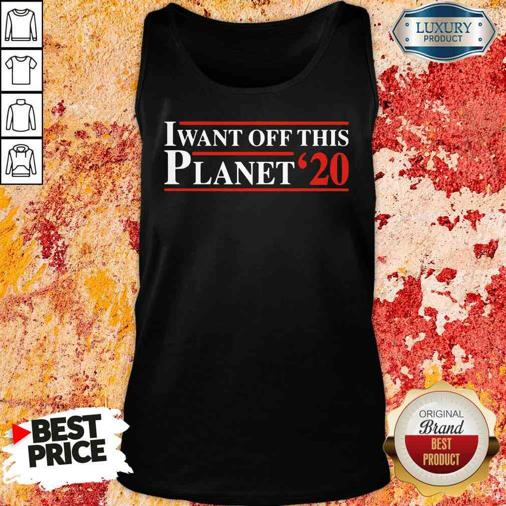 I want off this Planet 23 Tank Top-Design By Soyatees.com