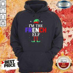 Im french Elf Christmas Hoodie-Design By Soyatees.com