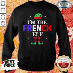 Im french Elf Christmas Sweatshirt-Design By Soyatees.com