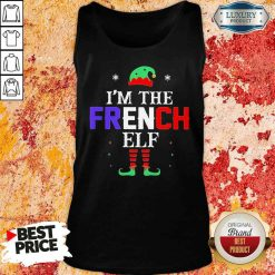 Im french Elf Christmas Tank Top-Design By Soyatees.com