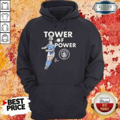 Manchester City Sam Mewis Tower of power signature Hoodie-Design By Soyatees.com