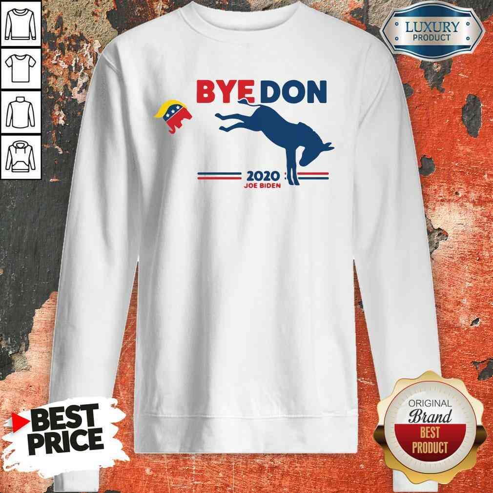 Nice Bye Don Donkey 2020 Joe Biden Sweatshirt-Design By Soyatees.com