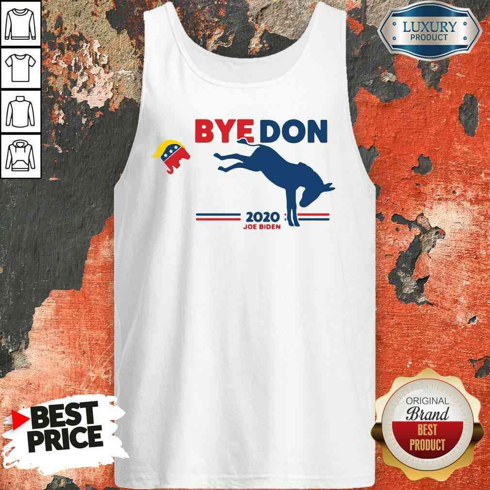 Nice Bye Don Donkey 2020 Joe Biden Tank Top-Design By Soyatees.com
