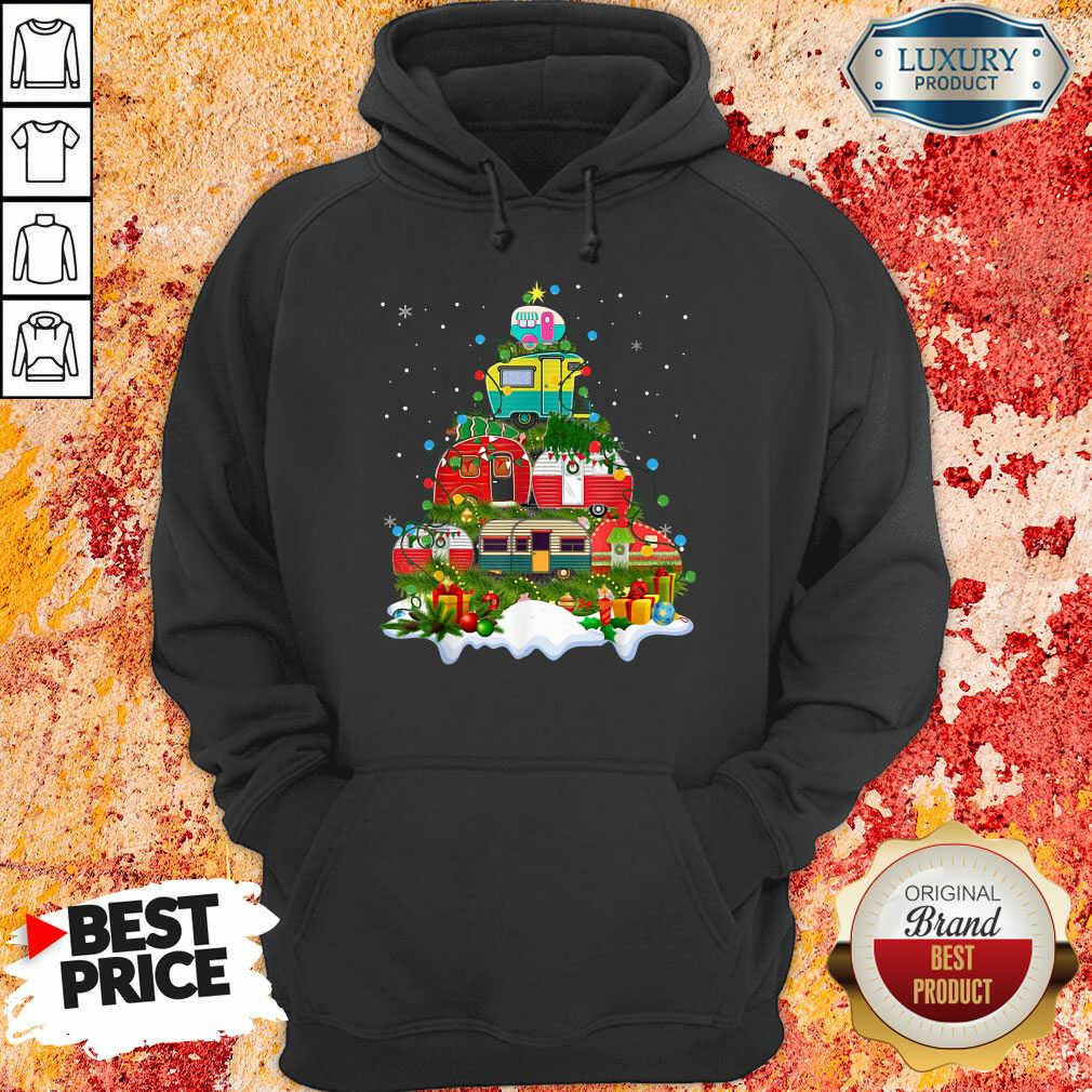 Nice Camping Christmas Tree Hoodie-Design By Soyatees.com