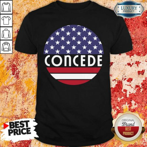 Concede American Flag Election 2020 Shirt-Design By Soyatees.com