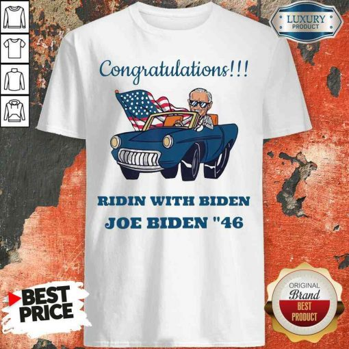 Nice Congratulations President Joe Biden 46 Biden Harris Unisex Shirt-Design By Soyatees.com