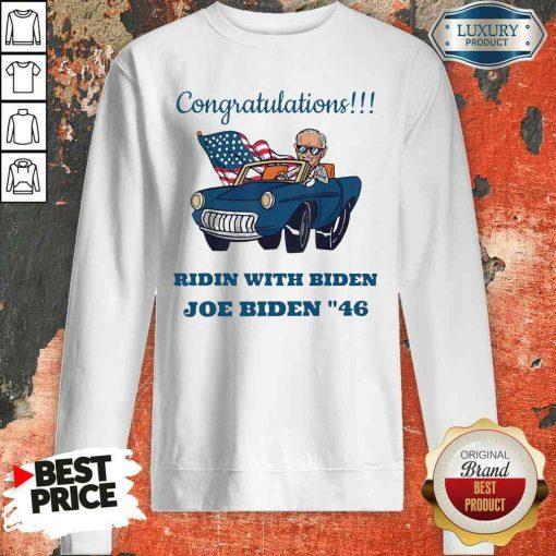 Nice Congratulations President Joe Biden 46 Biden Harris Unisex Sweatshirt-Design By Soyatees.com