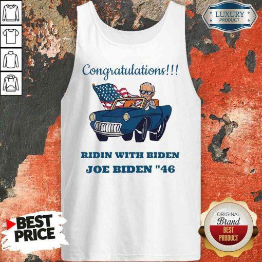 Nice Congratulations President Joe Biden 46 Biden Harris Unisex Tank Top-Design By Soyatees.com