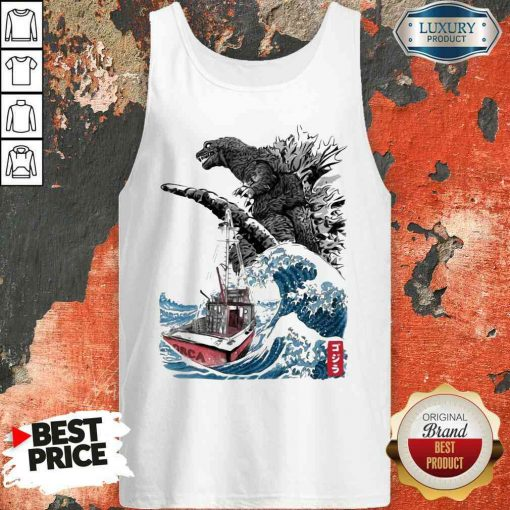 Nice Dinosaurs You'Re Gonna Need A Bigger Boat Tank Top-Design By Soyatees.com