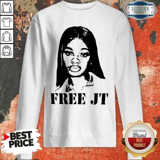 Nice Free Jt 2020 Sweatshirt-Design By Soyatees.com