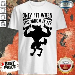 Nice Only Fit When The Moon Is Lit Shirt-Design By Soyatees.com