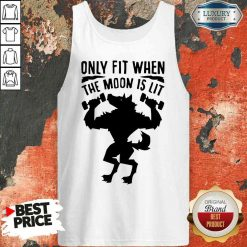 Nice Only Fit When The Moon Is Lit Tank Top-Design By Soyatees.com