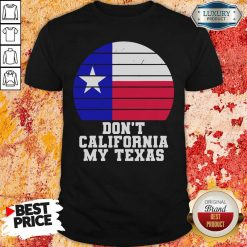 Don'T California My Texas Star Election Shirt-Design By Soyatees.com