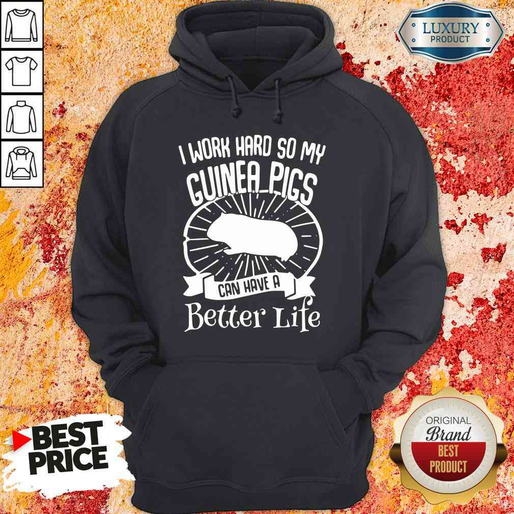 Official I Work Hard So My Guinea Pigs Can Have A Better Life Hoodie-Design By Soyatees.com