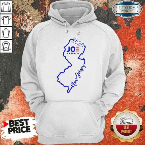Official Joe Biden And Kamala Harris Win New Jersey 2020 Hoodie-Design By Soyatees.com