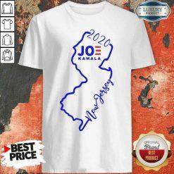 Official Joe Biden And Kamala Harris Win New Jersey 2020 Shirt-Design By Soyatees.com