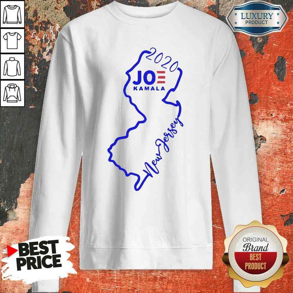 Official Joe Biden And Kamala Harris Win New Jersey 2020 SWweatshirt-Design By Soyatees.com