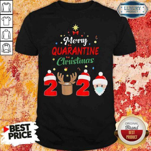 Official Merry Quarantine Christmas Shirt-Design By Soyatees.com