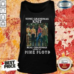 Official Some Grandmas Knit Real Grandmas Listen To Pink Floyd Tank Top-Design By Soyatees.com