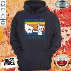 Original Best Yorkie Dad Ever Vintage Hoodie-Design By Soyatees.com