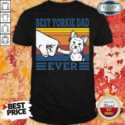 Original Best Yorkie Dad Ever Vintage Shirt-Design By Soyatees.com