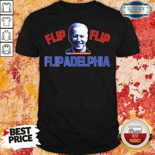 Original Biden Election And Flip Flip Flipadelphia 2021 Tee Shirt-Design By Soyatees.com