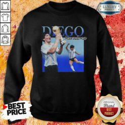 Diego Armando Maradona Soccer World Cup Sweatshirt-Design By Soyatees.com