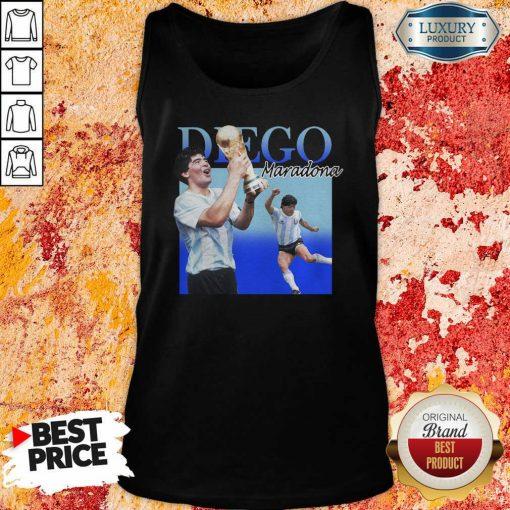 Diego Armando Maradona Soccer World Cup Tank Top-Design By Soyatees.com