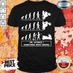 Original Ok Go Back Something Went Wrong Shirt-Design By Soyatees.com