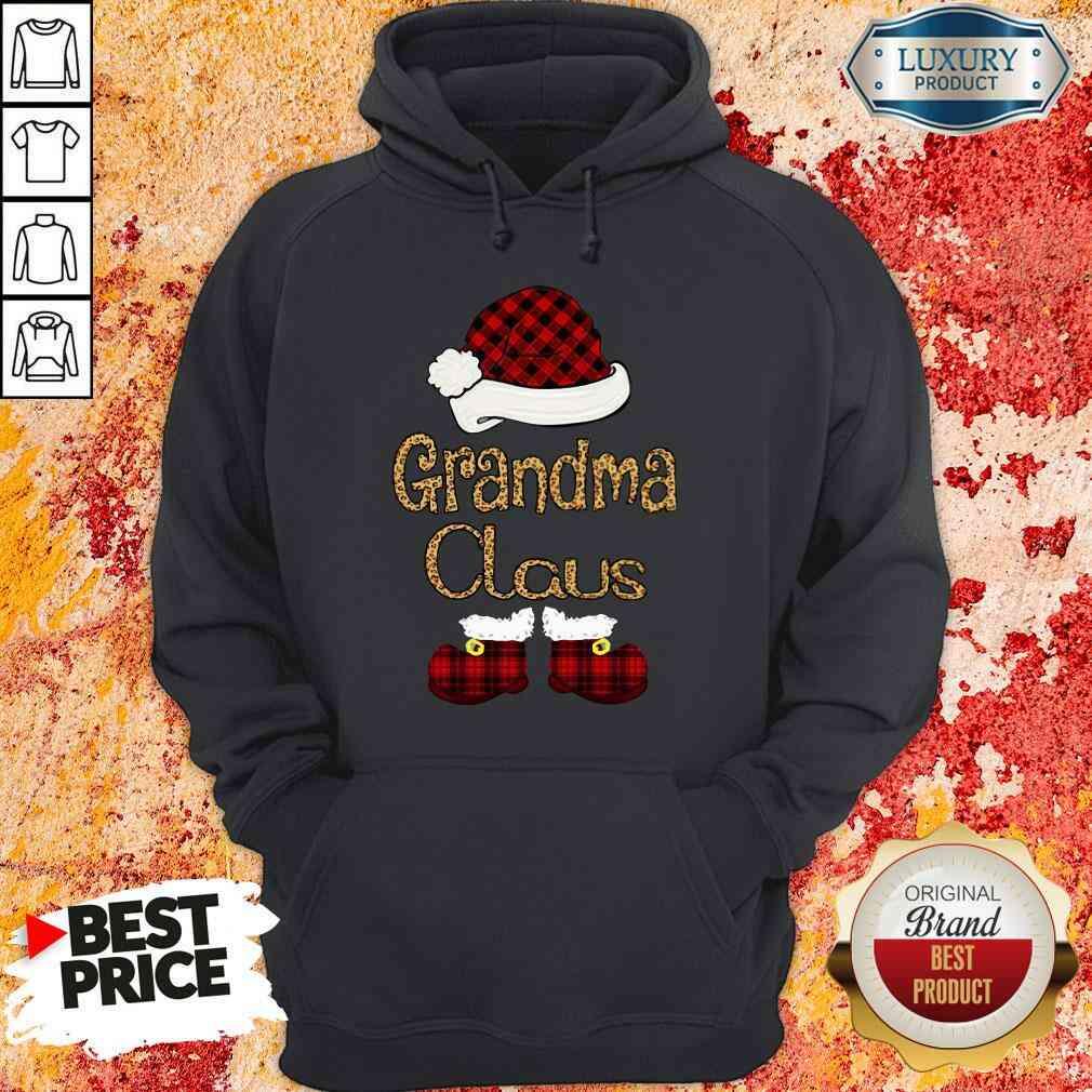 Original Santa Claus Grandma Claus Hoodie-Design By Soyatees.com