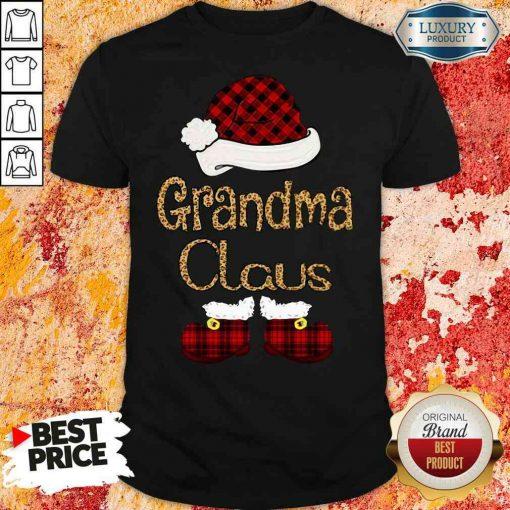Original Santa Claus Grandma Claus Shirt-Design By Soyatees.com