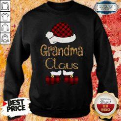 Original Santa Claus Grandma Claus Sweashirt-Design By Soyatees.com