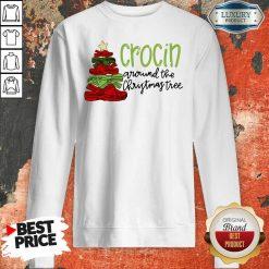 Crocin' Around The Christmas Tree Sweatshirt-Design By Soyatees.com