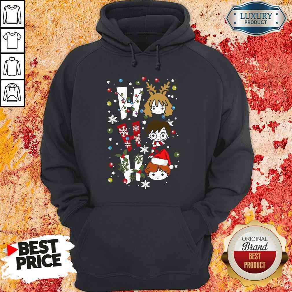 P Perfect Harry Potter Ho Ho Ho Merry Christmas Hoodie-Design By Soyatees.com