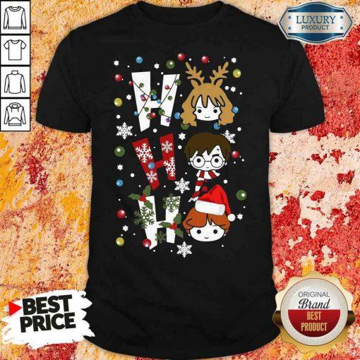 Perfect Harry Potter Ho Ho Ho Merry Christmas Shirt-Design By Soyatees.com