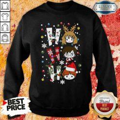 Perfect Harry Potter Ho Ho Ho Merry Christmas SweatshirtDesign By Soyatees.com